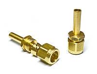 Переходник прямой для трубки ПВХ диаметром 8 мм (12,2х6,5), FARO
