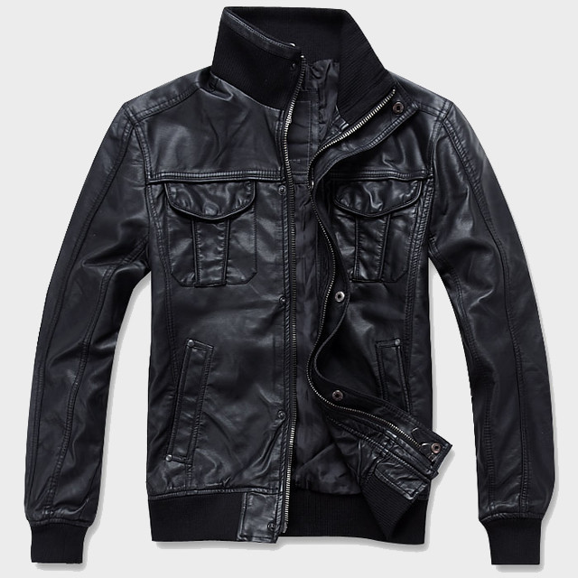 Куртки из кожзама оптом
