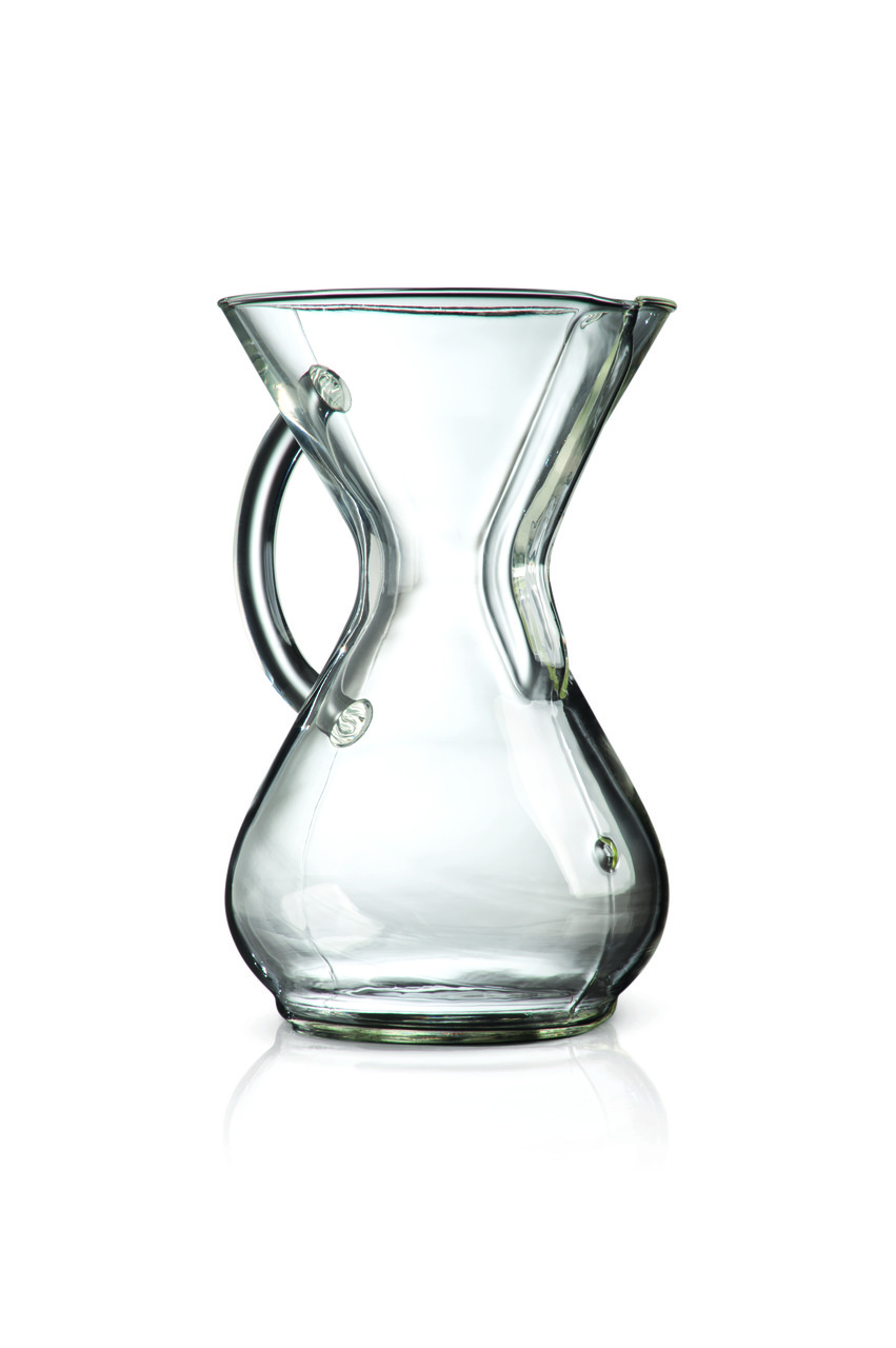 Кемікс Chemex Six Cup Glass Handle Series Coffeemaker CM-6GH