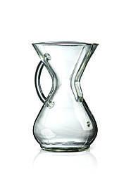Кемікс Chemex Six Cup Glass Handle Series Coffeemaker CM-6GH