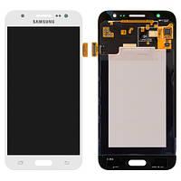 Дисплей для Samsung J500F/DS Galaxy J5, J500H/DS Galaxy J5, J500M/DS Galaxy J5 + с сенсором (тачскрином) White