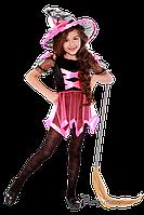 Детский карнавальный костюм для девочки ВЕДЬМОЧКА код 2088