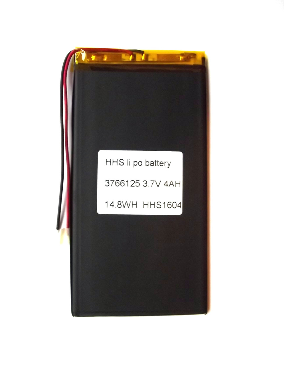 Аккумулятор 4000mAh, 3.7v, 3766125, Li-Po, для планшетов