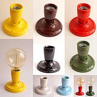 Светильник настенно-потолочный [ Spot Loft ceramics ] ( серия Colorline )
