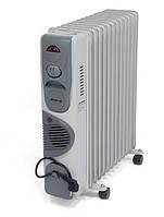 Радиатор масляный AFTRON на 13 секций (c вентил.) (AFOR1350F)
