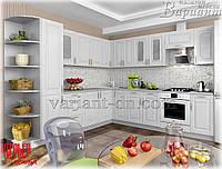 Кухня угловая модульная София Верона (сосна белая) 2,8х2,6м