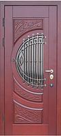 Входные двери со стеклом и ковкой М-5 Премиум Vinorit