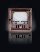 Дверка чугунная печная (36х39 см/ 27х30 см)