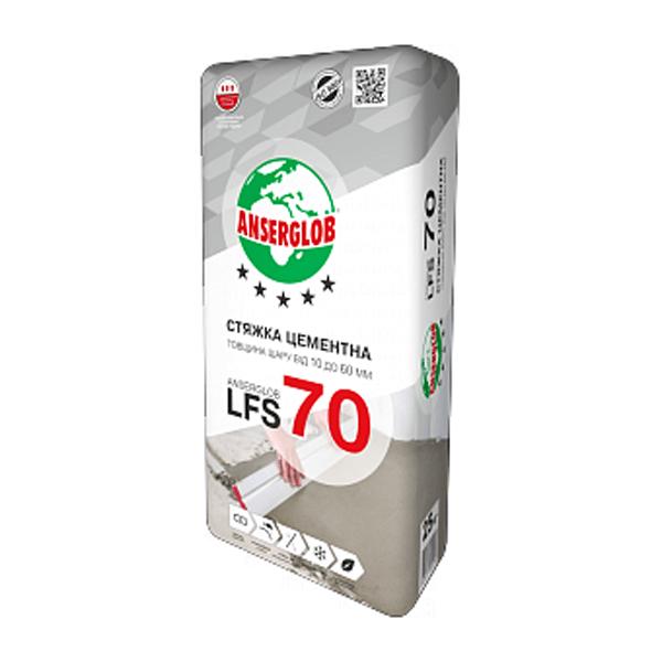 Стяжка ANSERGLOB LFS-70 25кг - РЕКОНТ в Днепре