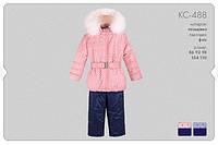 Зимний костюм на девочку КС488