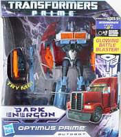 Трансформеры Прайм Optimus Prime Dark Energon - Оптимус Прайм Темный Энергон Voyager Class