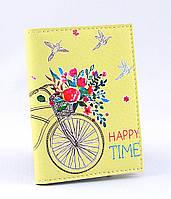 Обложка для визиток карточек стильная кожаная ретро модная визитница чехол обкладинка