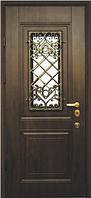 Входные двери со стеклом и ковкой Прованс Премиум Vinorit