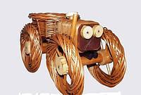 Цветочник трактор (средний размер, Длина 50см)