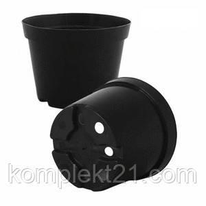 Горшки пластиковые для рассады 15 см (1,5 л), технические горшки
