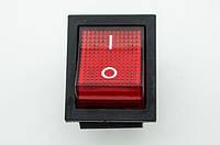 Кнопка Вкл/Выкл красная для генераторов 5 кВт - 6 кВт.