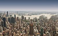 Горизонтальная картина НЬЮ-ЙОРК С ВЫСОТЫ