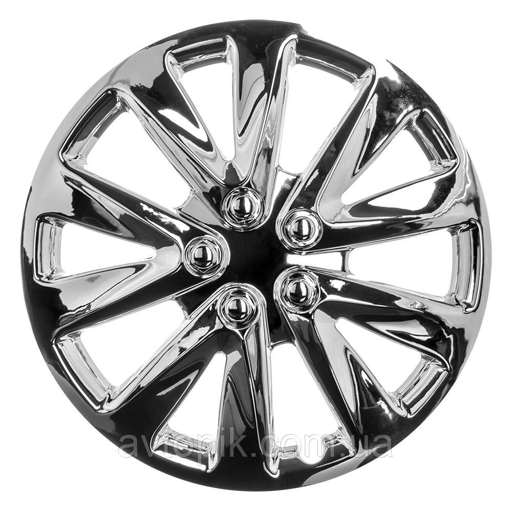 Колпаки колесные Winjet 5070-C R15 (хром) R-3727