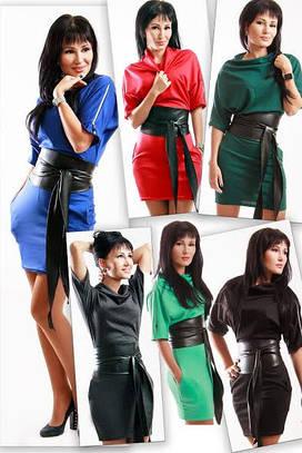Женское платье трикотаж MERCEDES- 5 цветов Трикотаж
