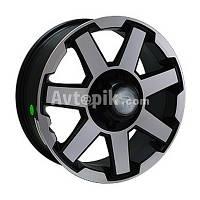 Литые диски Replay Toyota (TY176) R18 W7.5 PCD6x139.7 ET25 DIA106.1 (MBFP)