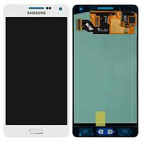 Дисплей (экран) для Samsung A500F Galaxy A5, A500FU/A500H/A500M + с сенсором (тачскрином) Оригинал белый