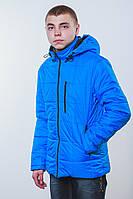 Куртка  на синтепоне синяя