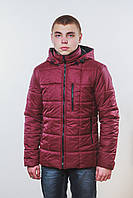 Куртка на синтепоне бордо