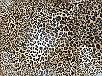 Кожа   натуральная леопардовый принт