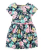 Хлопковое платье Carter's 2-3 года