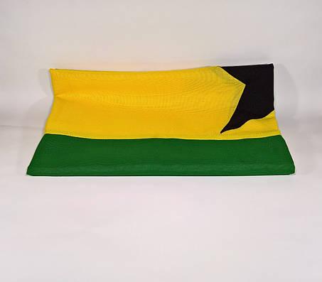 Флаг Ганы (Аппликация) - (1м*1.5м), фото 2