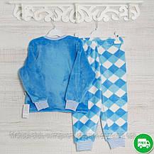 Детская пижама для мальчика _2_3,5лет, 22,17мрж махра-травка-вельсофт, в наличии 92,104,116 Рост, фото 3