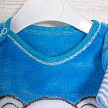 Детская пижама для мальчика _2_3,5лет, 22,17мрж махра-травка-вельсофт, в наличии 92,104,116 Рост, фото 2