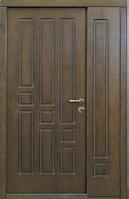 Входные двери полуторные Геометрика