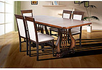 Стол обеденный, раскладной Арфа деревянный
