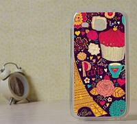 Силиконовый чехол бампер для Huawei Y600 с картинкой Сладости
