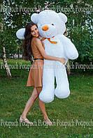 Большой плюшевый мишка мягкая игрушка 160см белый