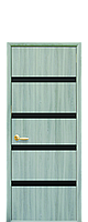 """Двери межкомнатные """"Новый Стиль-Нота BLK""""  дуб жемчужный"""