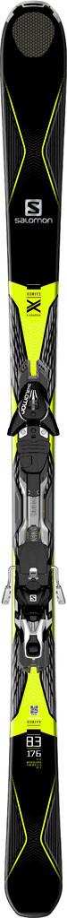 Горные лыжи Salomon M X-DRIVE 8.3 + M XT12 C90 BK/YE (MD)