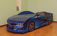 Кровать машина BMW синяя