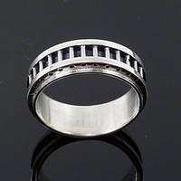"Серебряное кольцо ""Industrial"" от WickerRing"