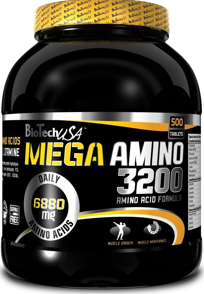 BioTech Mega Amino 3200 500 tabs