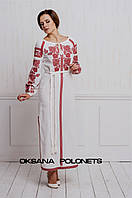 Вишукана сукня з вишивкою, фото 1