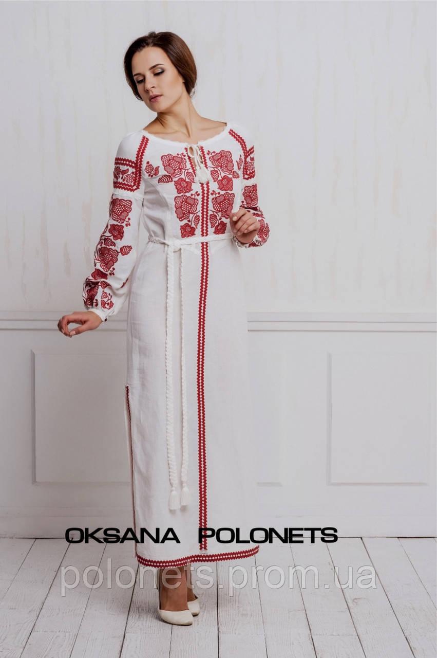 Вишукана сукня з вишивкою - Дизайн-студія Оксани Полонець в Киеве fac2fd9d494fd