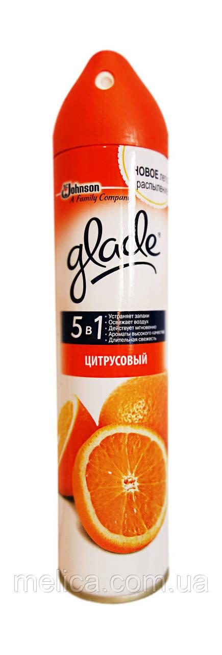 Освежитель воздуха Glade 5 в 1 Цитрусовый - 300 мл. - АВС Маркет в Мелитополе