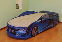 Кровать машина BMW с светлым  матрасом !!