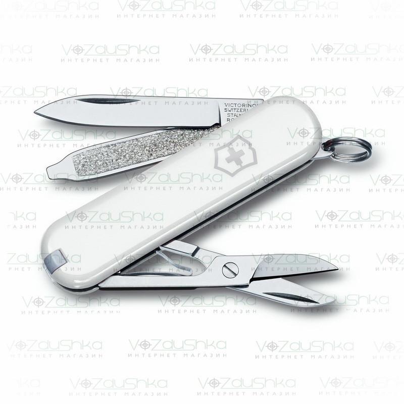 Нож Victorinox Сlassic SD 0.6223.7 белый, 7 функций