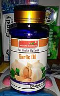 Жидкие капсулы с чесночным маслом 100шт, противовирусное и противоглистное