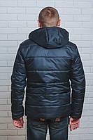 Куртка мужская на синтепоне зима черная