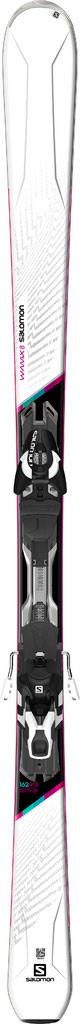 Горные лыжи женские Salomon M W-MAX 8 + M XT10 C90 White/BK (MD)