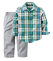 Брюки и рубашка Carter's 2Т